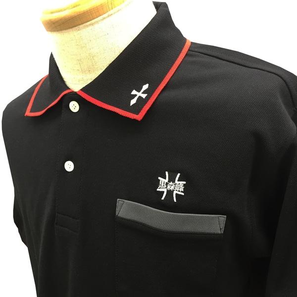 ガールズ&パンツァー ポロシャツ(黒森峰) Lサイズ
