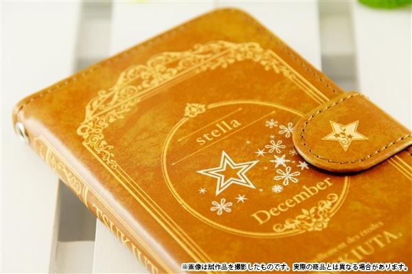 ツキウタ。 手帳型スマホケース stella