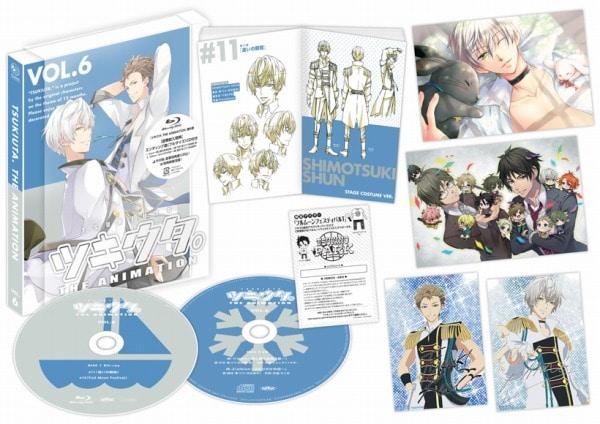 ツキウタ。 THE ANIMATION 第6巻【DVD】