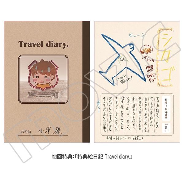 小澤廉 THE WORLD TRAVELER写真集「traveler」