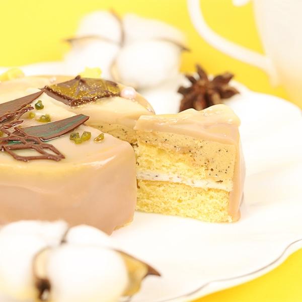ツキウタ。 ガトールーレコラボケーキ うさぎ付き秋セット(ツキウサ。+長月夜、神無月郁、霜月隼のケーキのセット)