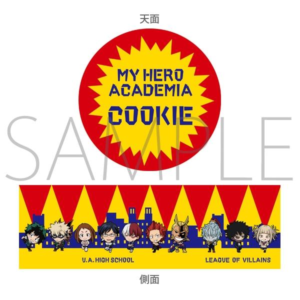 「僕のヒーローアカデミア」 缶入りクッキー