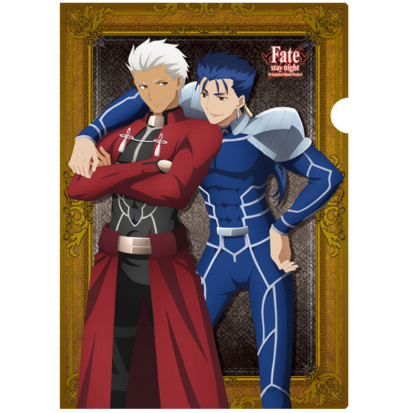 Fate/stay night [Unlimited Blade Works] クリアファイル アーチャー&ランサー