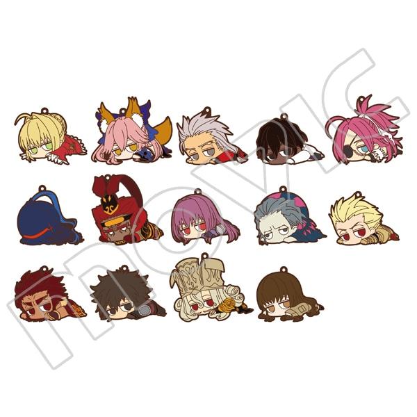 Fate/EXTELLA LINK だる〜んラバーストラップコレクション Vol.2