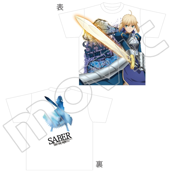 劇場版「Fate/stay night[Heaven's Feel]」 フルグラフィックTシャツ セイバー