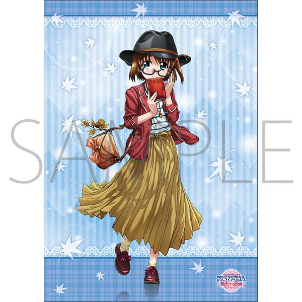 魔法少女リリカルなのは Detonation 限定B2サイズクリアポスター(はやて)付前売券