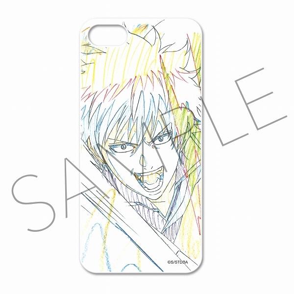 銀魂 アニメ原画スマートフォンケース(iPhone5・5S対応) A:銀時