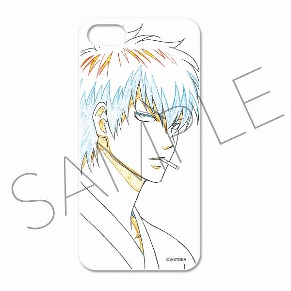銀魂 アニメ原画スマートフォンケース(iPhone5・5S対応) B:土方