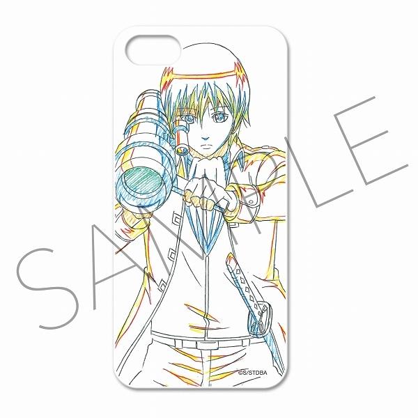 銀魂 アニメ原画スマートフォンケース(iPhone5・5S対応) C:沖田