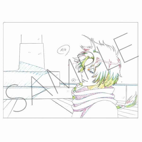 銀魂 アニメ原画クリアファイル E:神威