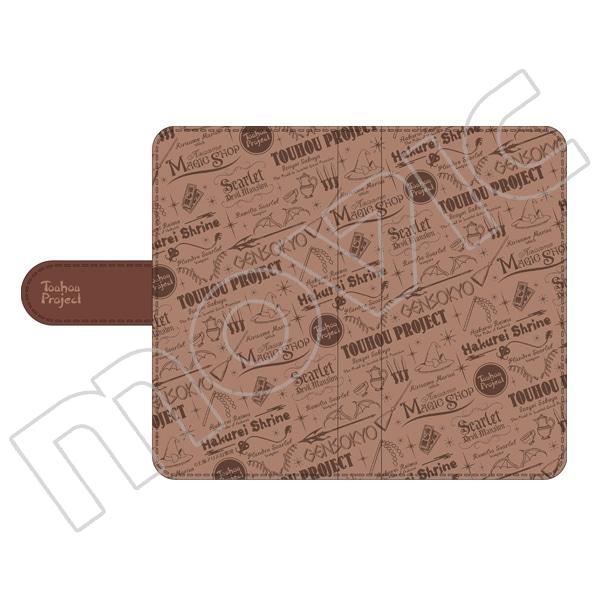 東方Project 手帳型スマートフォンケース アイコン柄