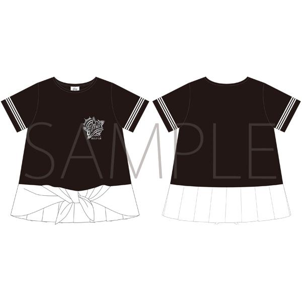 うたの☆プリンスさまっ♪ マジLOVELIVE 6th STAGE Tシャツ BLACK/LADEIS S 【受注生産】 アニメ・キャラクターグッズ新作情報・予約開始速報