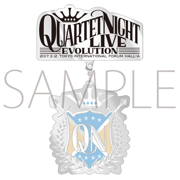 うたの☆プリンスさまっ♪QUARTET NIGHT LIVEエボリューション2017 ブローチ カミュ