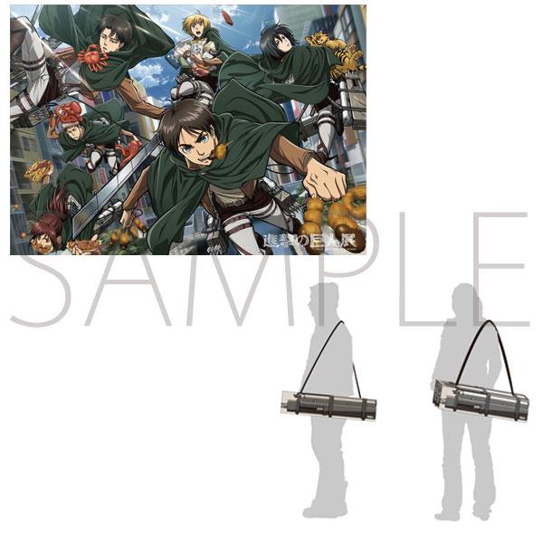進撃の巨人展 立体機動装置BOXポスター/E(大阪展アニメビジュアル)