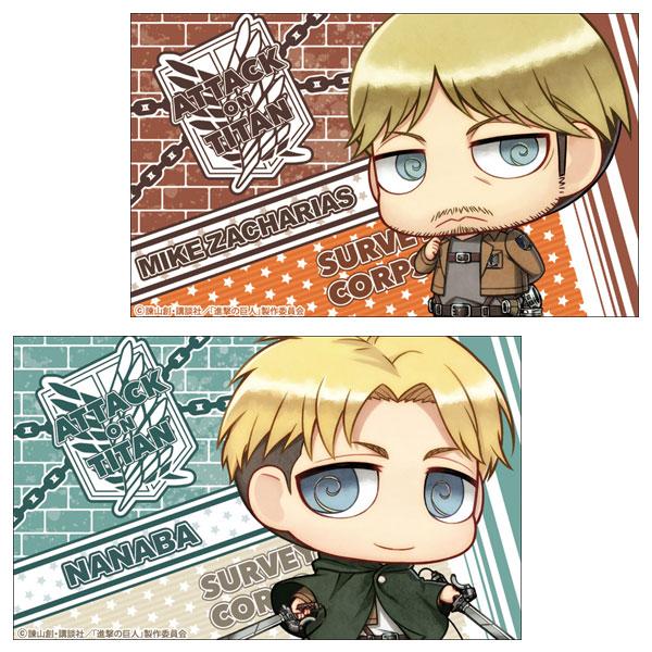 進撃の巨人 ステッカーセット ミケ&ナナバ