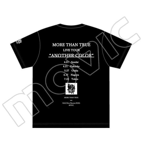 """アイカツ! モア・ザン・トゥルー LIVE TOUR""""ANOTHER COLOR"""" Tシャツ XLサイズ"""