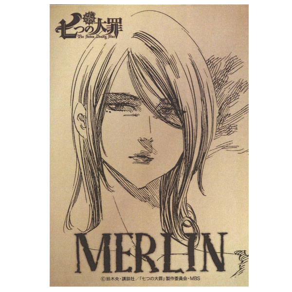 七つの大罪 メタルステッカー/マーリン