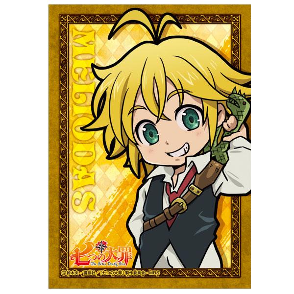七つの大罪 メタルステッカー/メリオダス