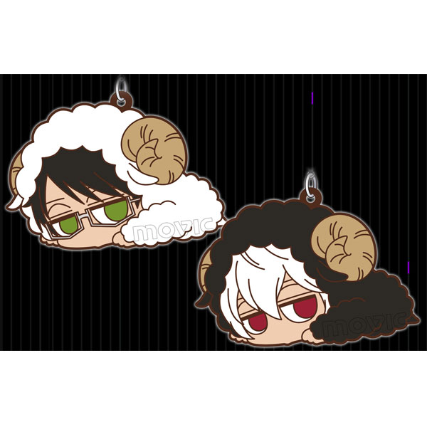 ワールドトリガーだる〜んラバーストラップセット 羊着ぐるみver.
