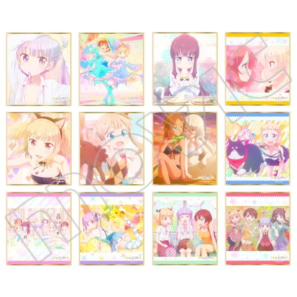 NEW GAME!! ミニ色紙コレクション
