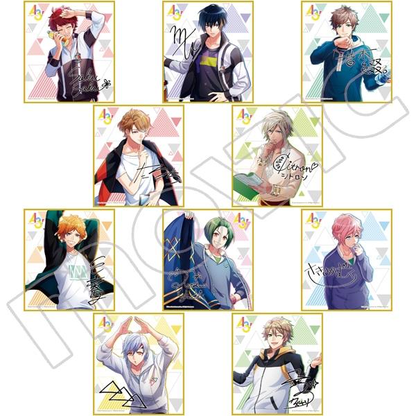 A3! ミニ色紙コレクション vol.3 春組&夏組