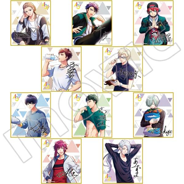 A3! ミニ色紙コレクション vol.3 秋組&冬組