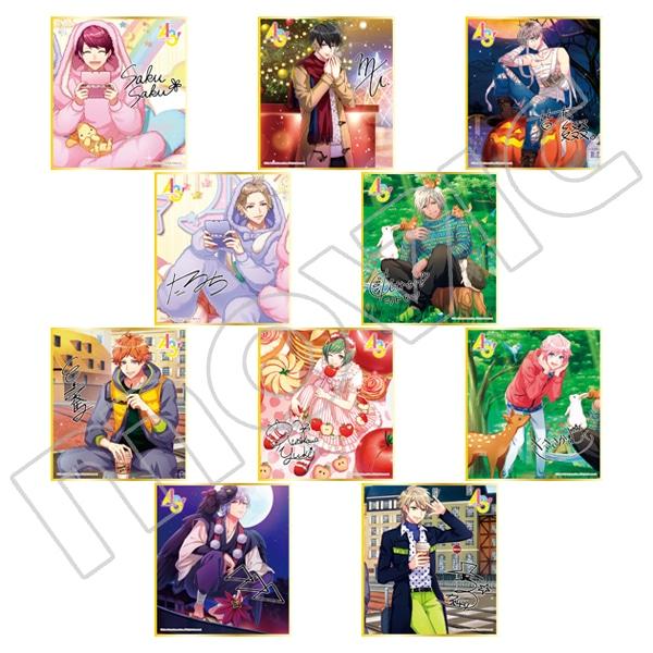 A3! ミニ色紙コレクション vol.5 春組&夏組