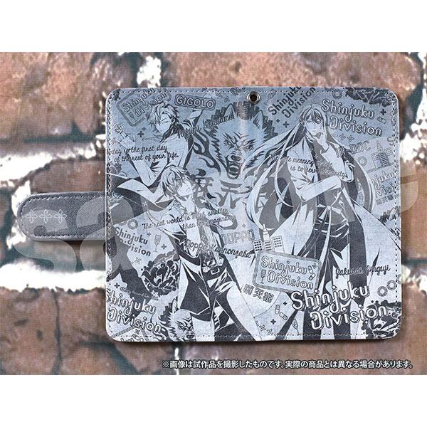 ヒプノシスマイク -Division Rap Battle- 手帳型スマートフォンケース 麻天狼