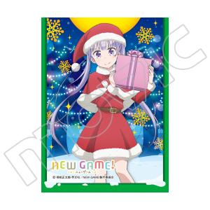 きゃらスリーブコレクション マットシリーズ NEW GAME! 「涼風 青葉(サンタ)」(No.MT302)