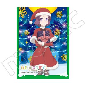 きゃらスリーブコレクション マットシリーズ NEW GAME! 「遠山 りん(サンタ)」(No.MT304)