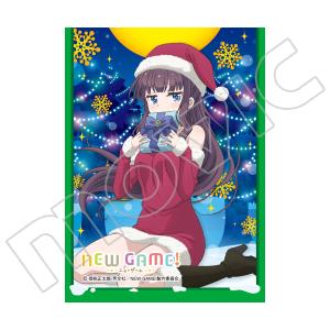 きゃらスリーブコレクション マットシリーズ NEW GAME! 「滝本 ひふみ(サンタ)」(No.MT305)