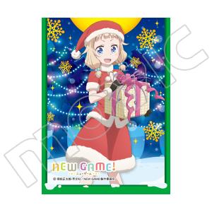 きゃらスリーブコレクション マットシリーズ NEW GAME! 「桜 ねね(サンタ)」(No.MT308)