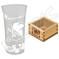 ヱヴァンゲリヲン新劇場版 日本酒グラス&枡セット
