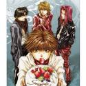 最遊記RELOAD BLAST ミニメタルポスター/B 三蔵一行・ケーキ