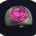 少女革命ウテナ 指輪 黒薔薇の刻印
