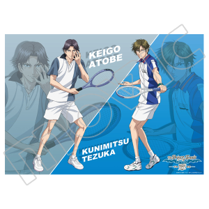テニスの王子様 BEST GAMES!! 手塚 vs 跡部 クリアポスター