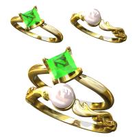 【13号】新テニスの王子様 白石指輪〜Shiraishi  Birthday Ring〜