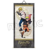 NARUTO−ナルト− 疾風伝 掛け軸 A:ナルト&ミナト