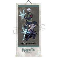 NARUTO−ナルト− 疾風伝 掛け軸 B:サスケ&カカシ