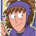 忍たま乱太郎 和紙ステッカー 鉢屋三郎