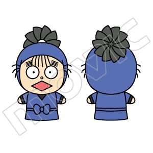 忍たま乱太郎 フィンガーマスコット・PUPPELA(パペラ) 時友四郎兵衛