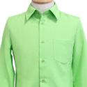 ACOSオリジナル 緑ワイシャツ