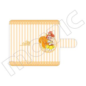 キラキラ☆プリキュアアラモード 手帳型スマートフォンケース キュアカスタード
