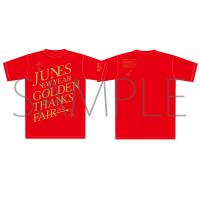ペルソナ4ザ・ゴールデン ジュネス新春ゴールデン感謝祭 イベントTシャツ 赤