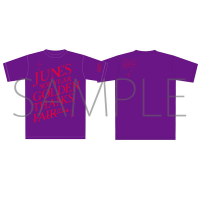 ペルソナ4ザ・ゴールデン ジュネス新春ゴールデン感謝祭 イベントTシャツ 紫