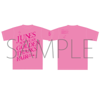ペルソナ4ザ・ゴールデン ジュネス新春ゴールデン感謝祭 イベントTシャツ ピンク