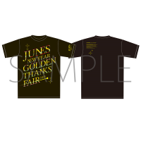 ペルソナ4ザ・ゴールデン ジュネス新春ゴールデン感謝祭 イベントTシャツ 黒