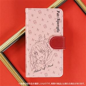Fate/Apocrypha 手帳型スマートフォンケース 赤のセイバー