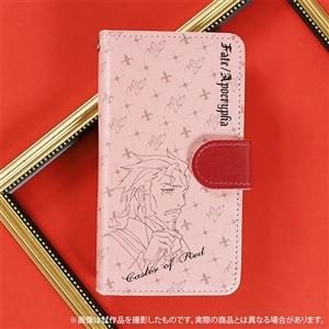 Fate/Apocrypha 手帳型スマートフォンケース 赤のキャスター