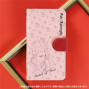 Fate/Apocrypha 手帳型スマートフォンケース 赤のライダー